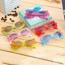 Kids Boys Girls Child New Goggles Bow Eyewear UV 400 Sunglasses Glasses BE