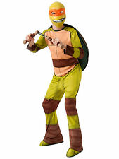 Michelangelo Mike Teenage Mutant Ninja Turtles TMNT Superhero Boys Costume