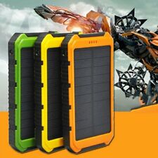18000mAh Solar Panel 2A 1A Battery Power Bank External Portable Phone Charger #B