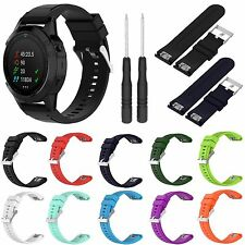 26MM Silicone Quick Release Band Strap Tool For Garmin Fenix 5X Multisport Watch