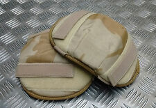 Genuine British Military Issue Desert Camo Tactical Knee / Elbow Pads - New