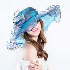 2017 Ladies organza Hat wedding races ascot Occasion Formal Mother Of The Bride