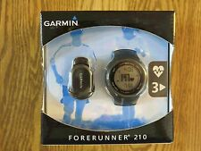 Garmin Forerunner 210 GPS Watch With Heart Rate Monitor and Foot Pod - Black