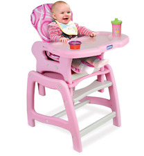 Badger Basket Envee Baby Feeding High Chair with Playtable Conversion