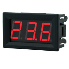 2 Wire DC 2.5-30V LED Panel Digital Display Voltage Meter Voltmeter 0.56 4 Color