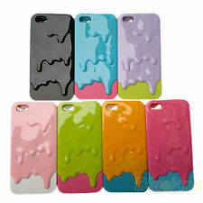 Vogue 3D Sweet Melting Ice Cream Hard Plastic Case Cover For Apple iPhone 5 5S