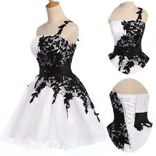 Flower Girl Party Pageant Short Dress Graduation Homecoming Prom Bridesmaid Gown