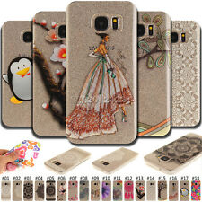 Various Rubber Back Protective TPU Soft Skin Cover Gel Case For Samsung Galaxy