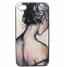 Fashion Paint sexy girl Pattern hard Cover Cases Skins for iPhone 5 5S SE 4 4S