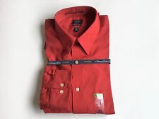 Arrow Classic-Fit Sateen No-Iron Point-Collar Red Sz.16,16 1/2,17 1/2,18 1/2 #41
