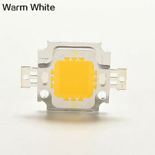 10 Pcs 10W Cool/Warm White High Power 30Mil SMD LED Chip Bulb Light Bead Tidy