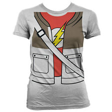 Officially Licensed The Big Bang Theory- Sheldons Suit Women T-Shirt S-XXL Sizes