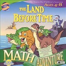 The Land Before Time Activity Center for Ages 4 - 8 PC CD-ROM Mac/Windows