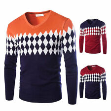 Cashmere Winter Sweater Men O Neck Slim Fit  Mens Sweaters Pullover Knitwear RB