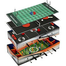 4 In 1 Multi Game Table: Glide Hockey, Table Tennis,