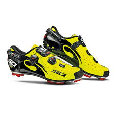 SIDI Drako Carbon SRS MTB Cycling Shoes -Color Yellow Fluo/Black, Size 38~47 EUR