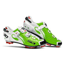 SIDI Drako Carbon SRS MTB Cycling Shoes -Color Green Fluo/White Size 39~46 EUR