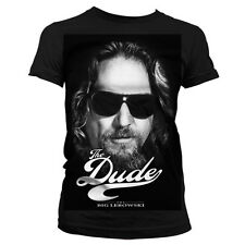 Officially Licensed The Big Lebowski- The Dude II Women T-Shirt S-XXL Sizes