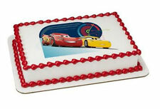 Cars 3 Race Ready image cake topper frosting sheet icing #20900