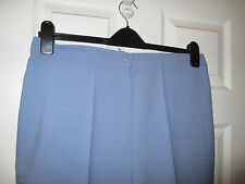 BNWT Ladies Blue Comfort Fit Trousers Sizes 16, 20, 22 or 26