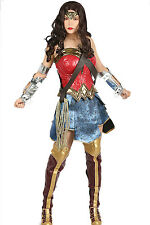2017 Wonder Woman Costume Adult Halloween Cosplay Costume Outfit & Props XCOSER