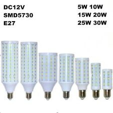 5730 SMD LED E27 Corn Light Bulb Lamp Cool White Warm White 12V LED Bulb Lights