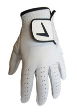 MENS BRAND NEW 100% LEATHER CABRETTA GOLF GLOVES LH & RH - ALL SIZES AVAILABLE