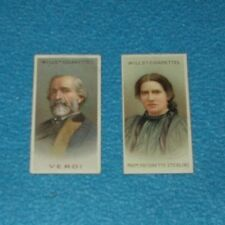 CIGARETTE CARD ODDS WILLS MUSICAL CELEBRITIES SECOND SERIES 1916 - SELECT CARD