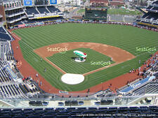 1-4 San Francisco Giants @ San Diego Padres 2017 Tickets 8/28/17 Petco UI301 R 9