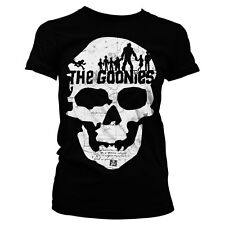 Officially Licensed The Goonies- The Goonies Skull Women's T-Shirt S-XXL Sizes