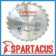 Spartacus Wood Cutting Saw Blade 315 mm x 24 Teeth x 30mm  Fits Various Models