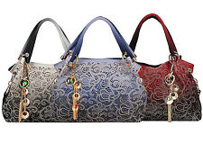 Ladies Faux Leather Handbags Shoulder Bags Totes Bags for Women's Fashion Bags
