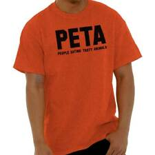 PETA Satire Ironic Humor Adult Rude Gifts Funny Quote Ladies T-Shirt