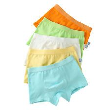 Boys' Boxer Briefs Seamless Short Underwear Cotton Boxers Pack of 5