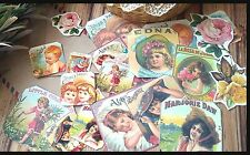 Vintage Victorian Children Die-Cut,ephemera Paper,Stickers,Scrapbook Decoupage