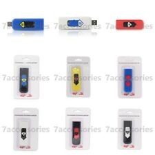 Electronic USB Cigarette Lighter Windproof Rechargeable Flameless Lighter