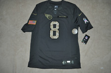 Nike Tennessee Titans Marcus Mariota Mens Salute To Service Jersey NWT 🔥🔥🇺🇸