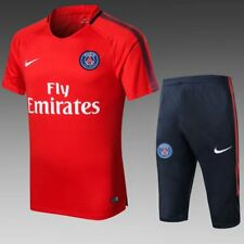 16-17 Paris soccer team  football training suit Short sleeves suit red jersey