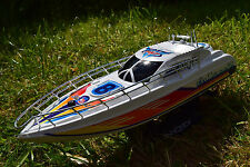 RADIO REMOTE CONTROL BOAT RACING SPEED BOAT YACHT HIGH SPEED 12KM/HR