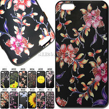 Embossed Rubber Case Protective Soft TPU Cover Back Skin For Apple iPhone 6/6S