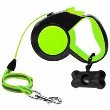 New 10ft 16ft Retractable Dog Leash Extending Walking Lead Reflective With Free