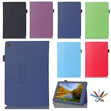 Folio Leather Slim Case Stand Flip Cover For Amazon Kindle Fire HD 7 2015 Tablet