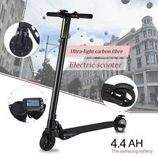 Carbon Fiber Electric Kick Scooter Foldable EScooter Free Shipping Two Wheels