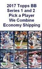 2017 Topps Series 1 and 2 Baseball Complete Your Set Economy Shipping 251-500