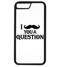 I Moustache You A Question Funny Tache Phone Cover Case Protector