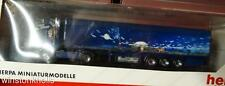 HERPA PRIVATE COLLECTION HO1:87 SCANIA TRUCK TRAILER WIRTZ LION STARPETER LITZER