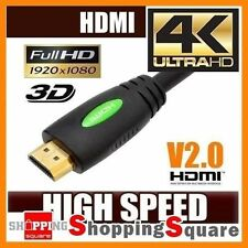 Premium HDMI Cable v2.0 Ultra 4K HD 2160p 1080p 3D High Speed Ethernet ARC HEC