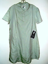 NWT XS S or M Jeanne Engelhart Flax SUMMER SPREE DRESS grasshopper screen print
