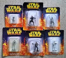Star Wars De Agostini Metal Figures Choice of 6 - All On Card