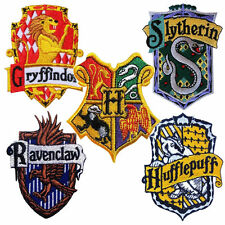 Harry Potter Patch House Badge Crest Embroidered Iron Sew On Hogwarts House etc.